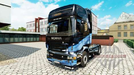 Star Destroyer skin for Scania truck for Euro Truck Simulator 2