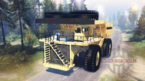 Mining truck Godzilla v3.0 for Spin Tires