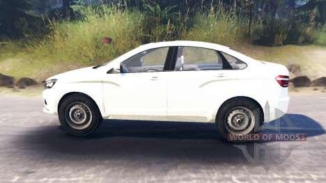 LADA Vesta (ВАЗ-2180) for Spin Tires