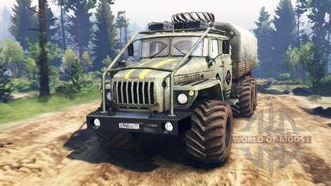Ural-4320-40 1982 v3.0 for Spin Tires