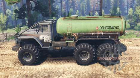 Ural-4320-10 Tungus v2.0 for Spin Tires