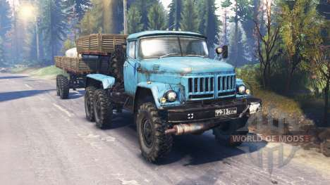 ZIL-137-137Б [blue] v2.0 for Spin Tires