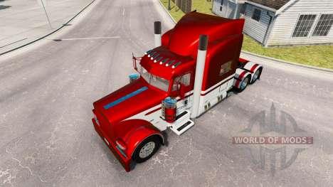 Skin Equipment Express truck Peterbilt 389 for American Truck Simulator