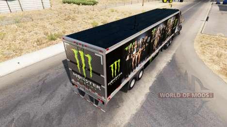 Skin Monster Energy for semi for American Truck Simulator