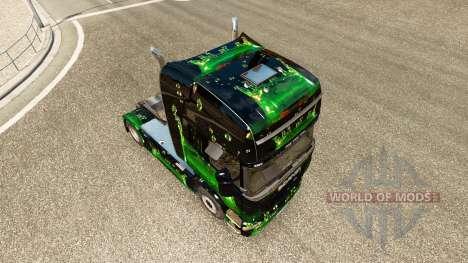 ArtWorks skin for Scania truck for Euro Truck Simulator 2