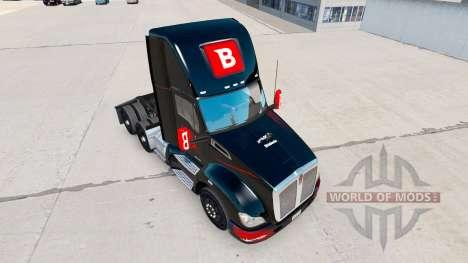 Skin Bitdefender tractor Kenworth for American Truck Simulator