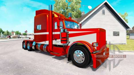 6 Metallic skin for the truck Peterbilt 389 for American Truck Simulator