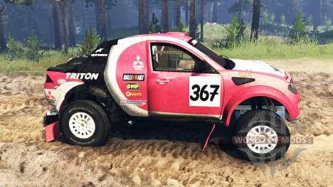 Mitsubishi L200 Triton v2.0 for Spin Tires