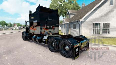 Skin Long Haul for the truck Peterbilt 389 for American Truck Simulator