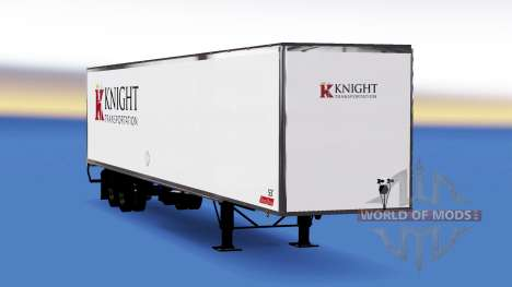 Skin on Knight Transportation semi-trailer for American Truck Simulator
