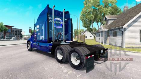 The Uncle D Logistics skin for the truck Peterbi for American Truck Simulator