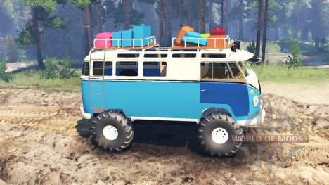 Volkswagen Transporter T1 for Spin Tires