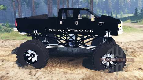 Ford F-350 [black rock] for Spin Tires