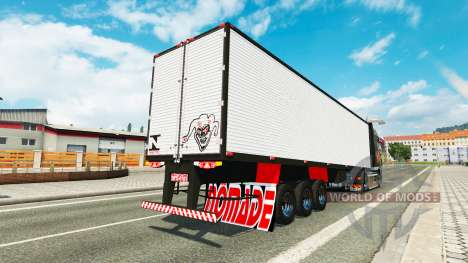 Brazilian trailer for Euro Truck Simulator 2