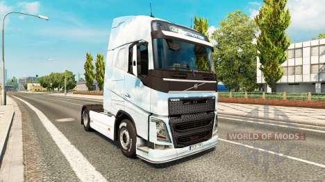 Gone skin for Volvo truck for Euro Truck Simulator 2