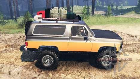 Chevrolet K5 Blazer 1975 [farmer] for Spin Tires