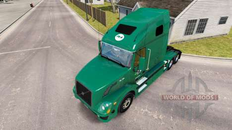 Skin R-L Carriers on the truck Volvo VNL 670 for American Truck Simulator