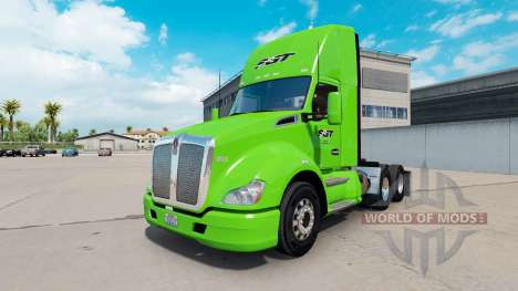 Skin SGT on tractor Kenworth for American Truck Simulator