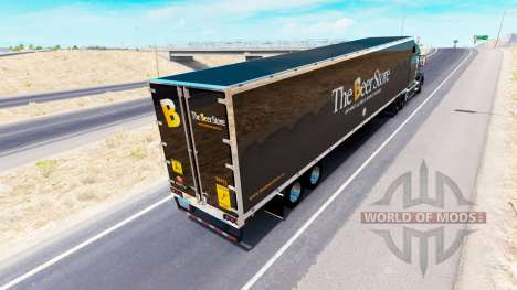 Skin The Beer Store on tractor Volvo VNL 670 for American Truck Simulator