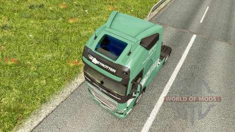 Koln skin for Volvo truck for Euro Truck Simulator 2