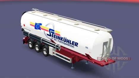 The semitrailer-tank Steinkuhler for Euro Truck Simulator 2