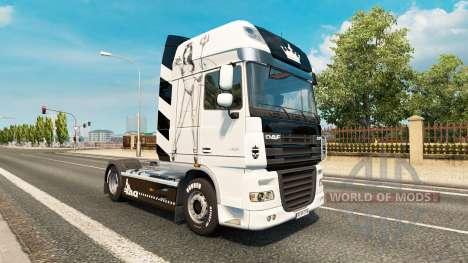 Lil Devil skin for DAF truck for Euro Truck Simulator 2