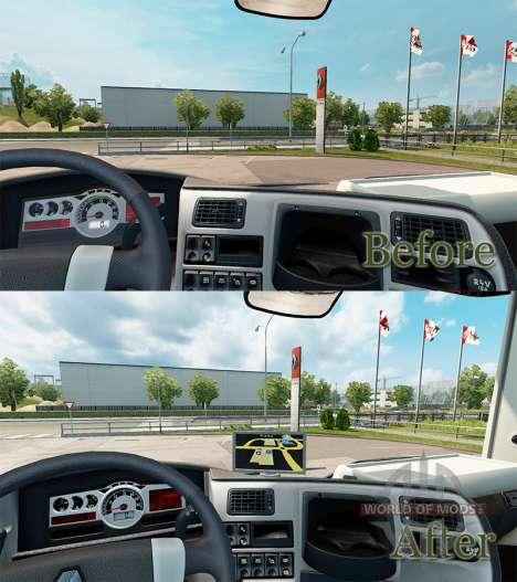 GPS Navigator for Renault for Euro Truck Simulator 2