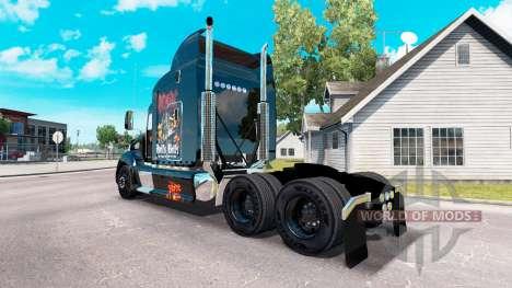 Skin AC-DC tractor Peterbilt 386 for American Truck Simulator