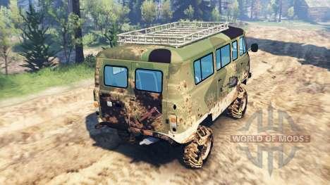 UAZ-2206 v5.0 for Spin Tires