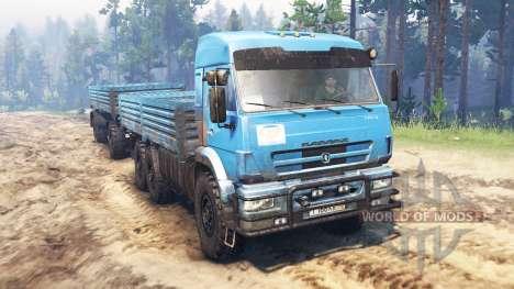 KamAZ-43118 v10.0 for Spin Tires