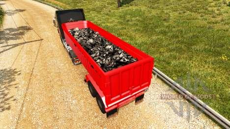 The semitrailer-dump v2.0 for Euro Truck Simulator 2