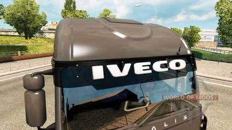 Sun visors for Euro Truck Simulator 2