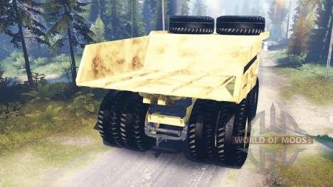Mining truck Godzilla v3.0 for Spin Tires