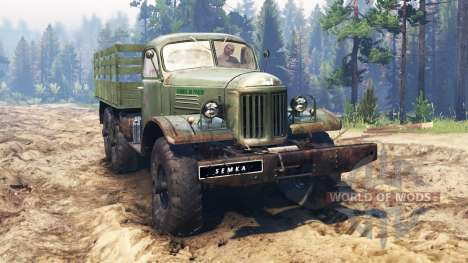 ZIL-157 [Truman] for Spin Tires
