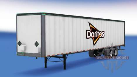 Skin of Doritos on the trailer for American Truck Simulator