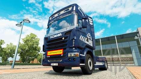 Svaertransport for Euro Truck Simulator 2