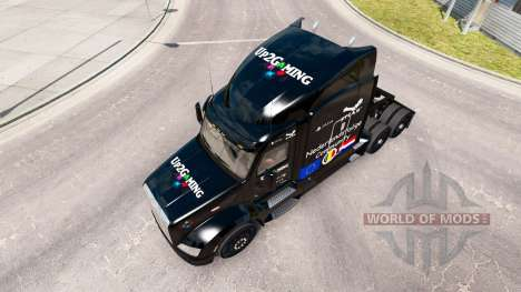 Up2Gaming skin for the truck Peterbilt for American Truck Simulator