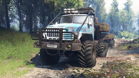 Ural-4320-10 10x10 v3.0 for Spin Tires
