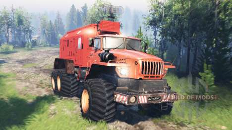 Ural-4320 Polar Explorer v5.0 for Spin Tires
