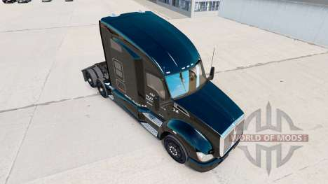 Allen Transport skin for Kenworth tractor for American Truck Simulator