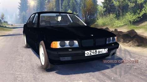 BMW 750Li (E38) v2.0 for Spin Tires
