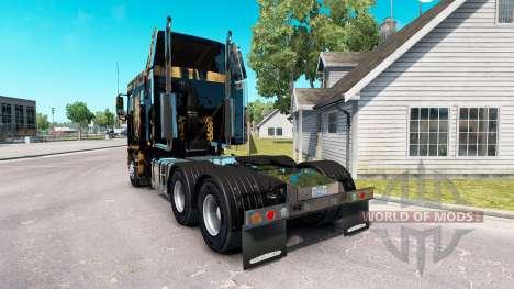Skin Jaguar on the truck Freightliner Argosy for American Truck Simulator