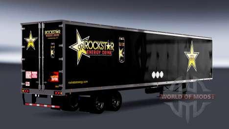 All-metal semi-Rockstar Energy for American Truck Simulator