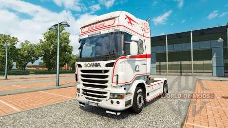 Skin Bart Kroeze at tractor Scania for Euro Truck Simulator 2