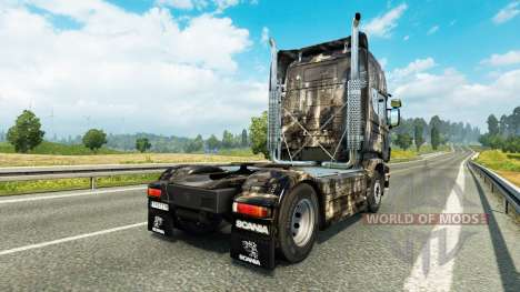 Skin City at tractor Scania for Euro Truck Simulator 2