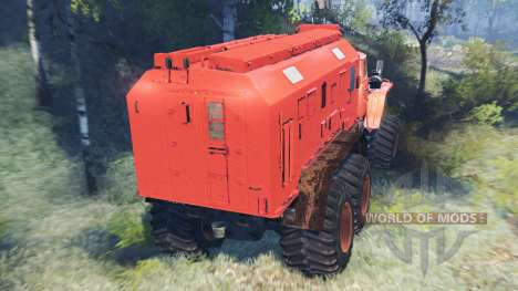 Ural-4320 Polar Explorer v7.0 for Spin Tires