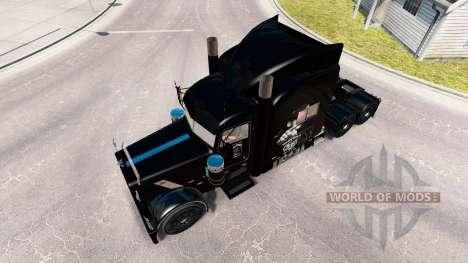 Motorhead skin for the truck Peterbilt 389 for American Truck Simulator