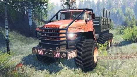 Ural-4320 Polar Explorer v7.0 for Spin Tires