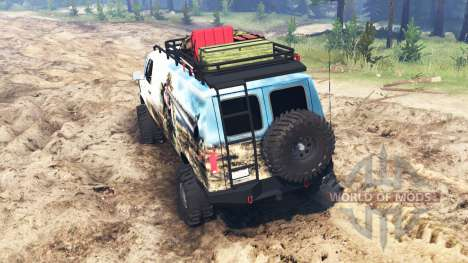 Ford E-350 [econoline safari] for Spin Tires