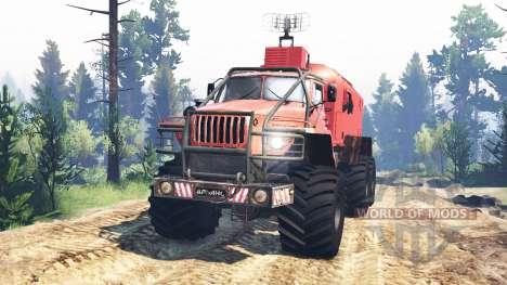 Ural-4320 Polar Explorer v4.0 for Spin Tires